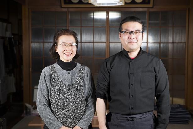 4代目主人の前田悠さんと母で先代の眞由子さん
