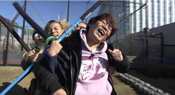 「どういうお笑い王」の一幕