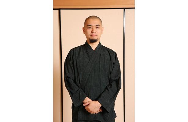 """""""料理僧""""こと青江覚峰さん"""