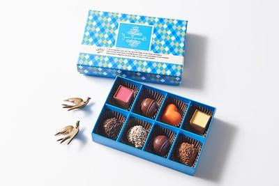長年の経験と情熱を注いで誕生したフルーツ専門のベルギーチョコレート、ジャン フランソワ・べ―の「ロッシェ 8個入」(1404円)