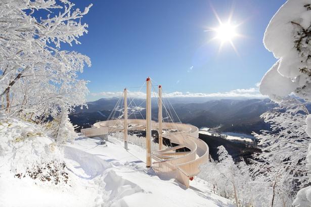星野リゾート トマム「霧氷テラス」は2018年4月3日までを予定