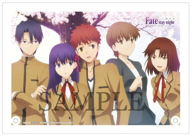 劇場版Fate/stay night [Heaven's Feel]I.presage flowerのBD&DVDが5月9日(水)に発売!