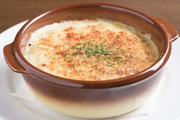 「オゼキ自慢のドリア」(920円)。ホワイトソースのおいしさは洋食店としての実力を示す