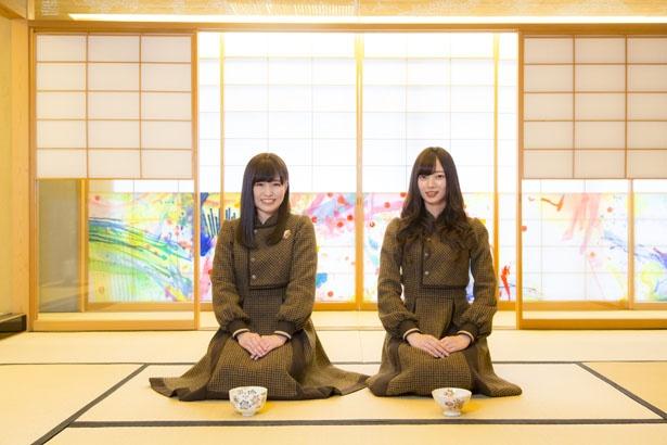 今回のゲストは3期生の梅澤美波ちゃん。かりんちゃん念願の茶道体験で、一緒に女子力アップしたよ!