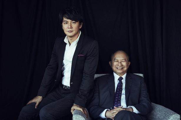 2月9日(金)公開の『マンハント』でタッグを組んだジョン・ウー監督と福山雅治にインタビュー!