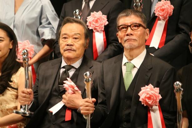 西田敏行と塩見三省がヨコハマ映画祭授賞式に登壇