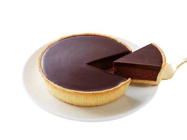 """""""世界一""""のチョコレートを使用した贅沢な「チョコレートチーズケーキ」(1080円)"""