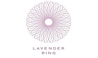 ロゴは全がん色であるラベンダー色をモチーフに、がんを知り、がんサバイバーをサポートする人のネットワークが輪になって増えていく姿をイメージ