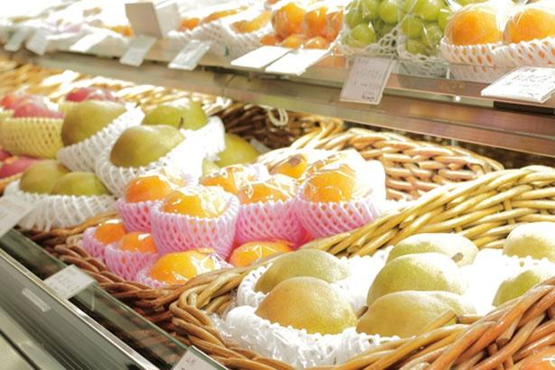 全国各地の食べごろフルーツだけを入荷/Fruit & Cafe HOSOKAWA