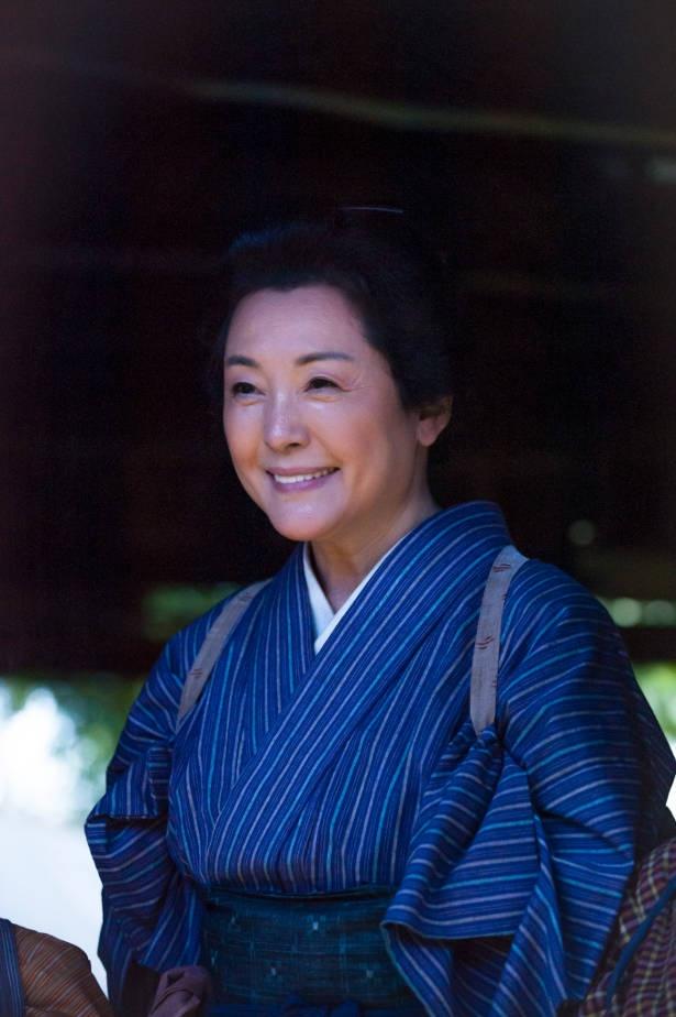 松坂慶子が、西郷家を支える肝っ玉母さんを好演中