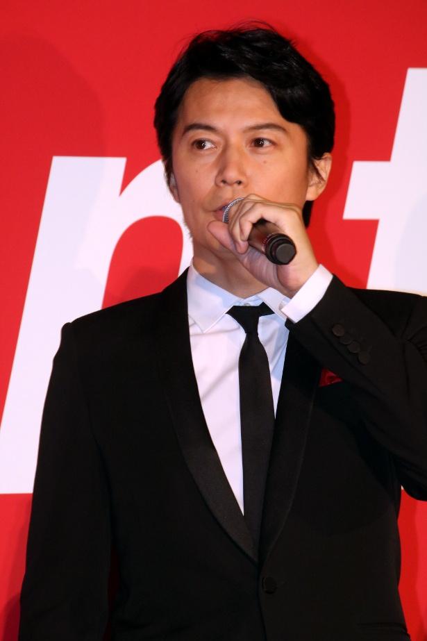 ジョン・ウー監督作『マンハント』の主演を務めた福山雅治