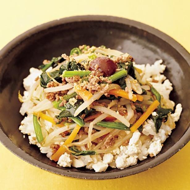 【関連レシピ】ビビン豆腐ご飯