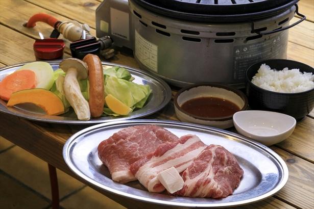 「道の駅 丹後王国『食のみやこ』」は、京丹波高原豚を使ったメニューが名物
