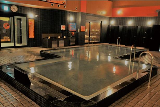 「竜泉寺の湯 横濱鶴ヶ峰店」の高濃度炭酸泉で体の芯からポカポカに