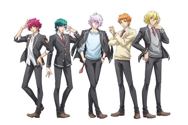 「美男高校地球防衛部HAPPY KISS!」が4月から放送されることが決定し、新たな防衛部5人のキャストが発表された