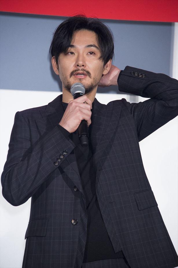 松田龍平のマイペースなトークと軽妙な小話には会場から笑いと拍手が