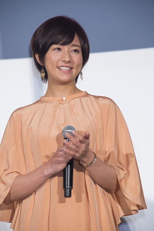 木村文乃は過去のウェディング関連のアルバイト経験を明かし、「人の幸せを作って送り出す仕事って幸せ」と語った