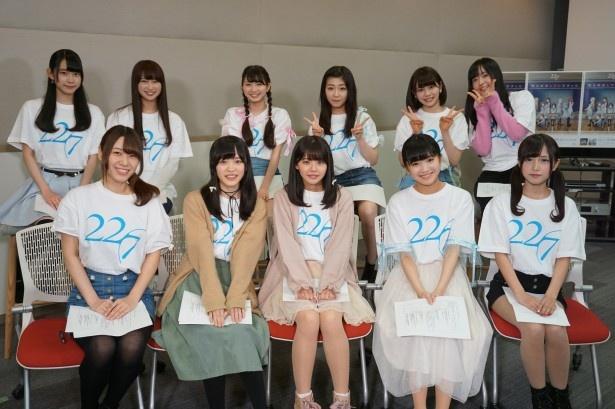 【写真を見る】22/7は4月11日(水)に2ndシングルをリリースする