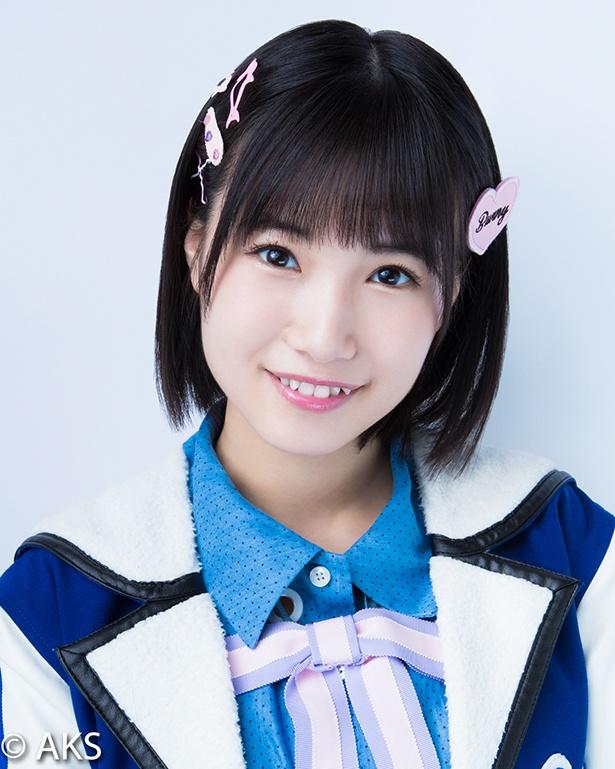【写真】KinKi Kidsの2人がメロメロになった朝長美桜(HKT48)、八重歯がキュート!