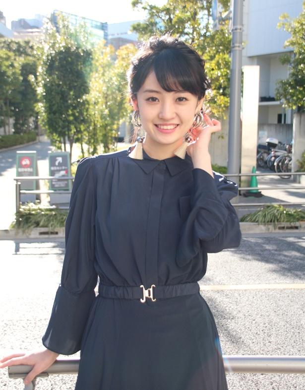 """咲良は小倉の""""太もも枕""""のシーンについて「本当にぜいたくな時間でした」と笑った"""