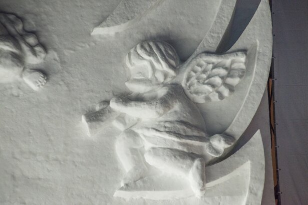 細かい彫刻部分もきれいに表現されています ©PMF組織委員会