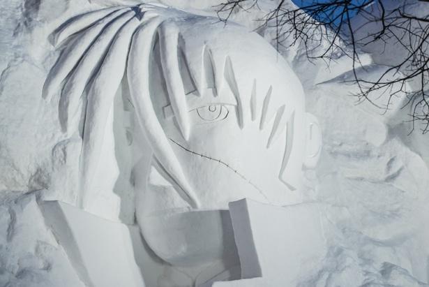 ブラック・ジャックの横顔も忠実に再現! © Tezuka Productions.
