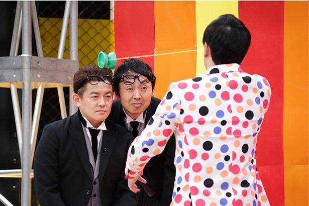 【写真を見る】SPW井戸田&アンガ田中がボヨンボヨンの芸に巻き込まれる!?