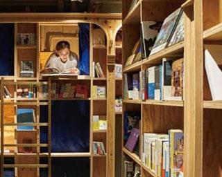 本棚で眠れる/Book and Bed Tokyo京都