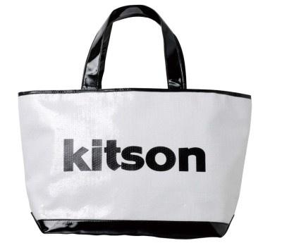 「kitson」スパンコールロゴバッグ(9975円)