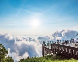 雲海の出現率は60パーセント以上!奇跡の天空テラス/SORA terrace 竜王マウンテンパーク