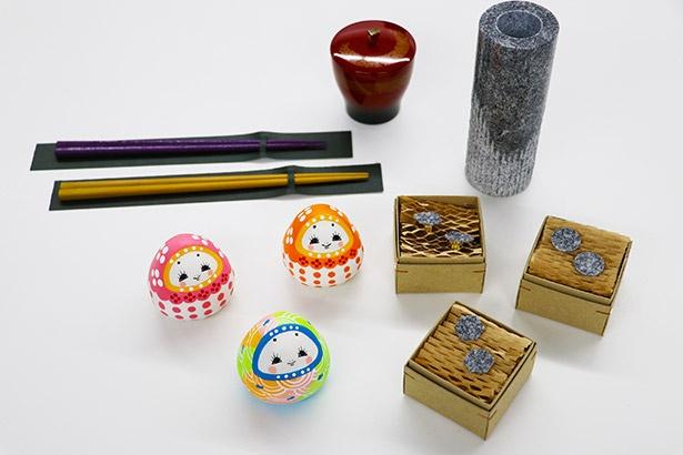 香川県の優れたデザインの伝統工芸品や雑貨など約600点が東京に集結