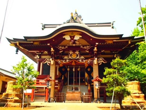 高田馬場駅より徒歩10分の「新宿 諏訪神社」