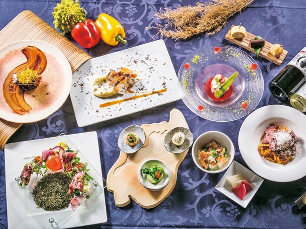 ディナーのコース「恵り」/セトレマリーナびわ湖