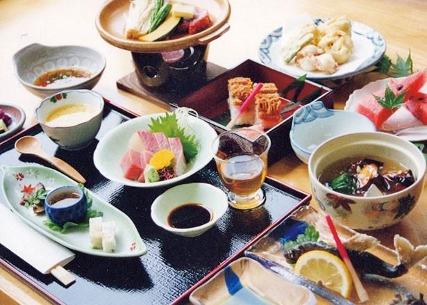 季節の味が楽しめる京会席料理/くらま温泉