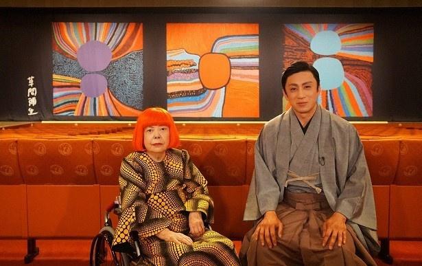 日本を代表する表現者同士の対談が実現