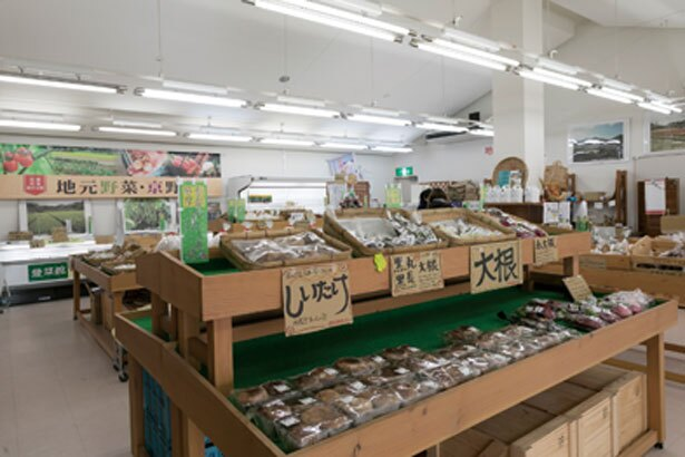 京野菜など種類が豊富/道の駅 丹後王国「食のみやこ」