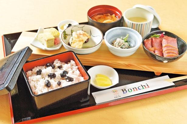 「人気の黒豆づくし」(1280円)/丹波里山レストラン Bonchi