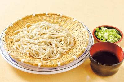 「瑞穂そば」(700円)/丹波大食堂