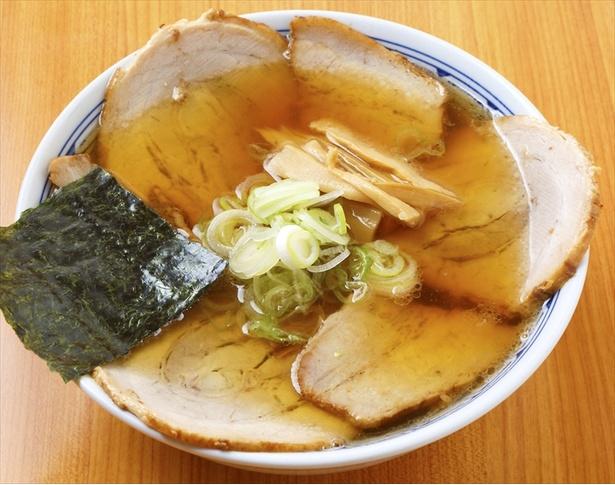 うえんでの「手打ちチャーシュー麺」(普通麺・並)