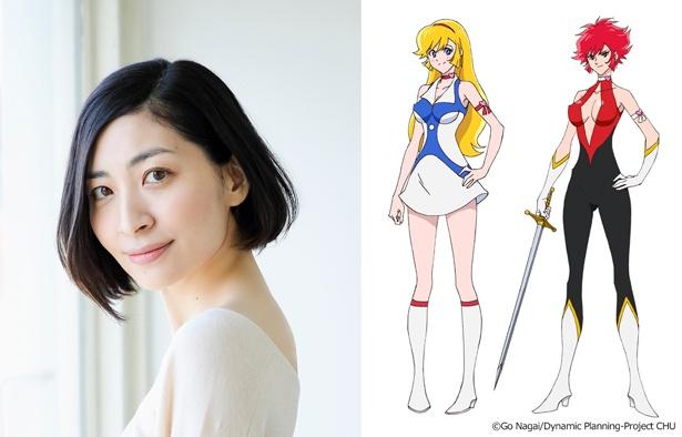 4月スタートの新アニメ「Cutie Honey Universe」で、如月ハニー/キューティーハニーを坂本真綾が演じる