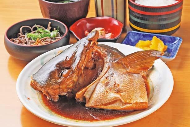 「あら煮定食」(1300円)/道の駅 舟屋の里 伊根