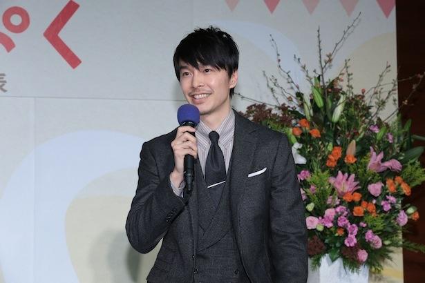 連続テレビ小説「まんぷく」への出演が決まった長谷川博己