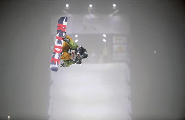 選手団最年少の15歳・國武大晃はダイナミックな技を披露!