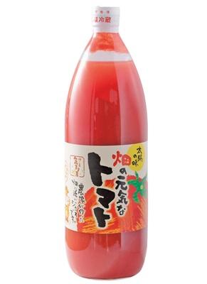 「畑の元気なトマトジュース」(1リットル・980円)/道の駅 針テラス