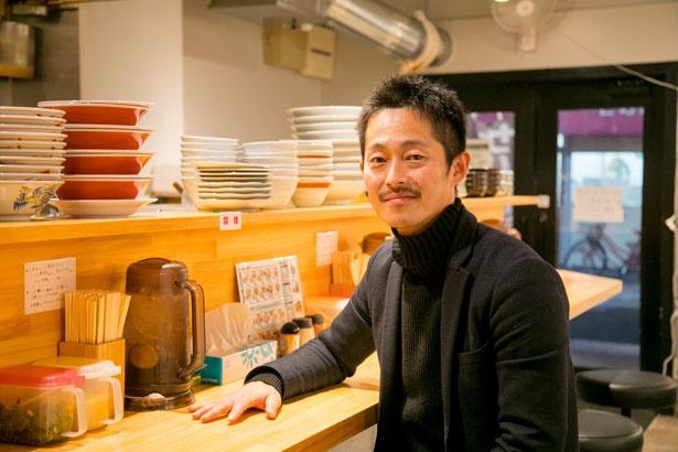 「サバ6製麺所」創業者で株式会社マリブ事業開発室 室長吉満浩之さん/サバ6製麺所
