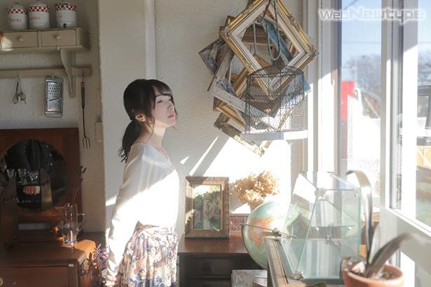 上田麗奈フォトコラム・優雅な古道具たちがたたずむ場所で
