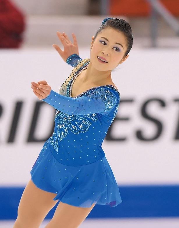 フィギュアスケート女子シングルの宮原知子