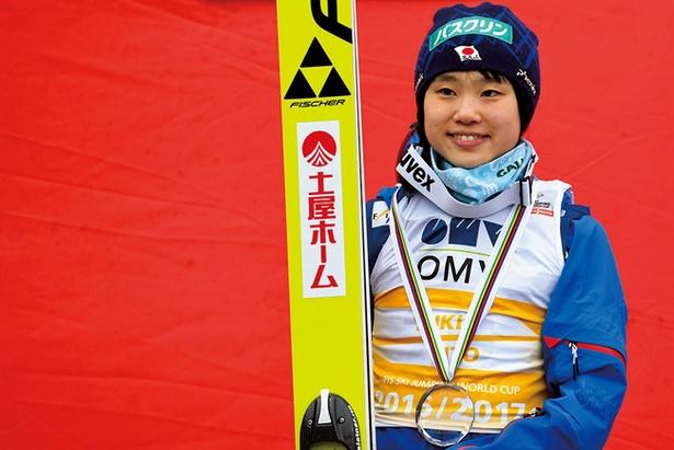 スキージャンプ女子・伊藤有希