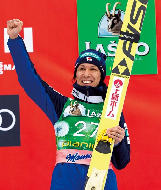 8度目の冬季五輪出場を果たしたスキージャンプ・葛西紀明
