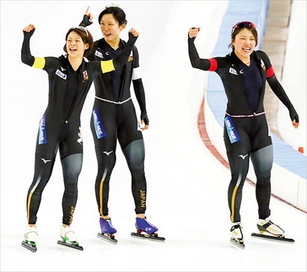 スピードスケート 女子団体パシュート